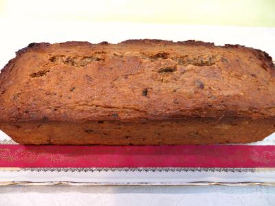 Image : Gâteau aux pruneaux et noix de pécan