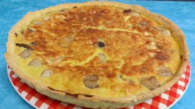 parmesan : Clafoutis aux asperges