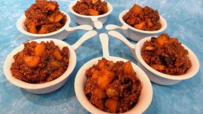 Recette Coupelles de couscous façon orientale