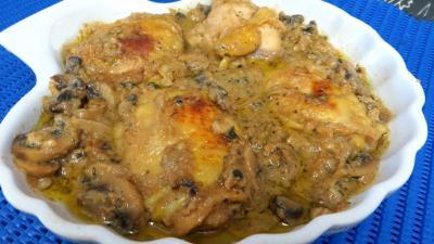 sel : Plat de blancs de poulet aux cachuètes