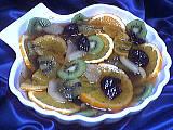 Recette Saladier de compote de fruits au kiwis
