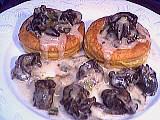 Recette Assiette de bouchées aux escargots