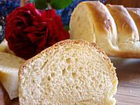 baguette : Tranche de baguette viennoise au poolish