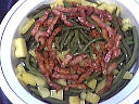 Haricots verts au fromage blanc - 5.2