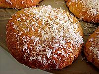 confiture d'abricots : Cookies à la noix de coco