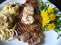 baie rouge : Assiette de contrefilets au beurre d'échalotes