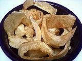 frites : Assiette de frites scoubidou