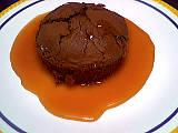 Image : Assiette de choco-caramel