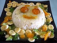 Gâteau de riz farci