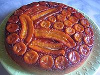 caramel : gâteau aux bananes au caramel