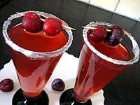 cocktail de bourbon aux cerises
