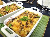 fromage de brebis : Cassolettes de girolles et de champignons de Paris