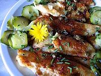 Recette Filets de merlan aux câpres et courgettes