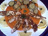 Recette Assiette de filets de sole aux légumes poêlés