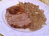 cuisse de dinde aux oignons