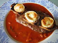 Recette Assiette de contre-filets au fromage de chèvre
