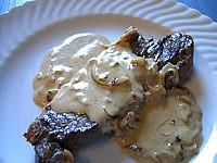 Recette Assiette de contre-filets à la sauce oseille et Marsala