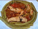 Recette Assiette d'émincé de dinde aux légumes