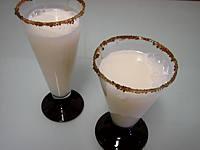Recette Verres de cocktail gin et lait d'amande
