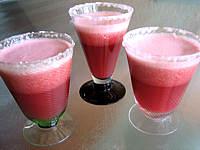 Cocktail raisin-framboise