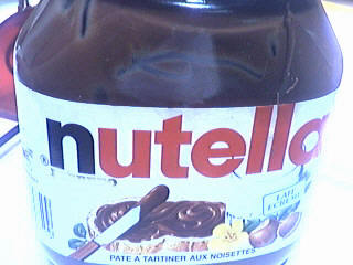 Photo : Pot de nutella