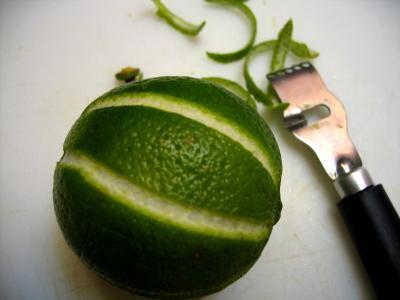 Zeste de citron vert