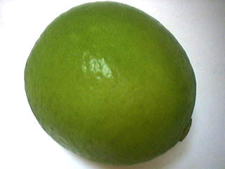 Photo : Citron vert