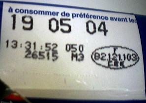 étiquette