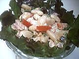 haricots blancs : Plat de salade de haricots blancs au thon