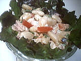Salade de haricots blancs au thon
