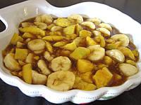 Salade de bananes et de mangue