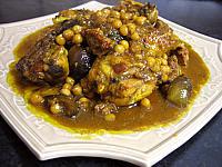 poulet aux figues et au miel à la marocaine