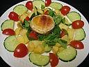 salade et rocamadour