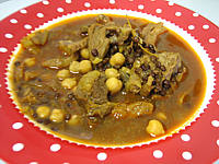 Image : Assiette de soupe de lentilles à la marocaine