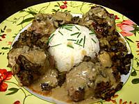 Recette Assiette de pavé d'autruche sauce madère