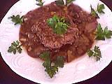 Image : Assiette de steak haché minceur