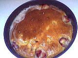 thé : Gâteau aux prunes