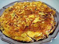 Image : Plat de tortilla de patatas