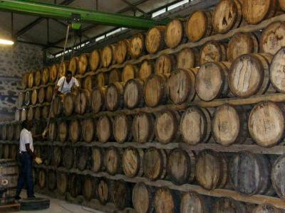 Photo : Cave de rhum