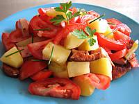 Recette Assiette de restes de saucisses et cervelas