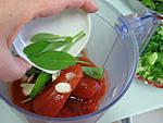 Velouté d'épinards aux tomates - 4.3