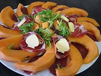 melon et ses jambons