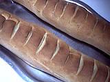 Photo : Baguette de pain viennois