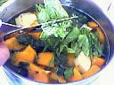 Soupe au potiron et épinards - 8.2