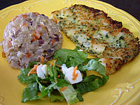 Recette Assiette d'omelette aux noix de Saint-Jacques
