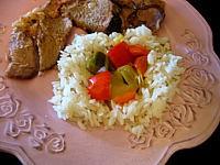 riz aux poivrons