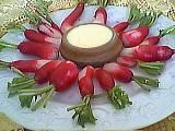 Image : Assiette de radis