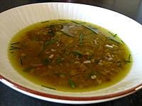 graines de tournesol : Ramequin de vinaigrette aux graines de tournesol