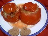 recettes farcies : Assiette de tomates farcies