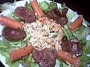 salade tiède de rognons